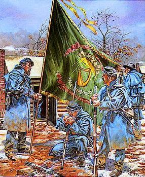 69th NY Irish Brigade Regiment colors